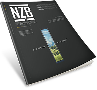 Net Zero Buildings magazine cover