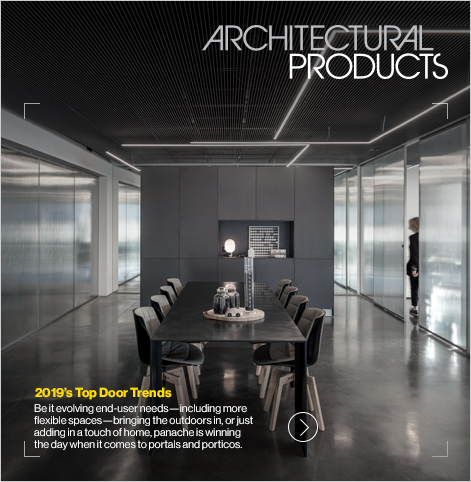 Architectural Products : April 2019